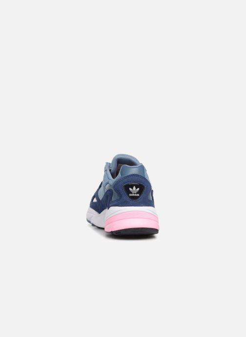 Baskets adidas originals Falcon W Gris vue droite