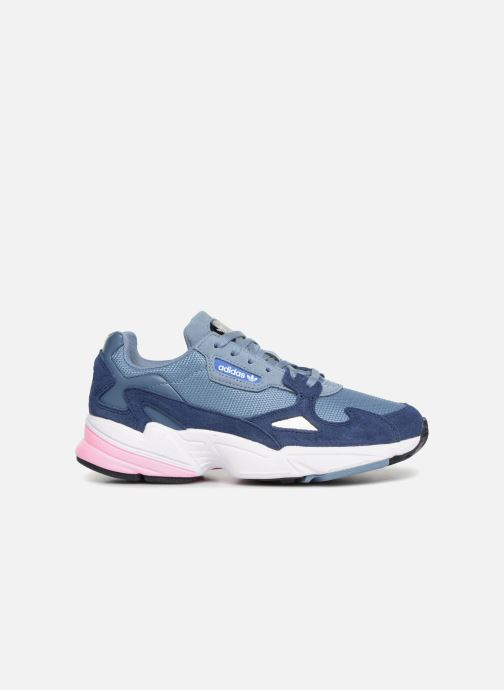 Baskets adidas originals Falcon W Gris vue derrière