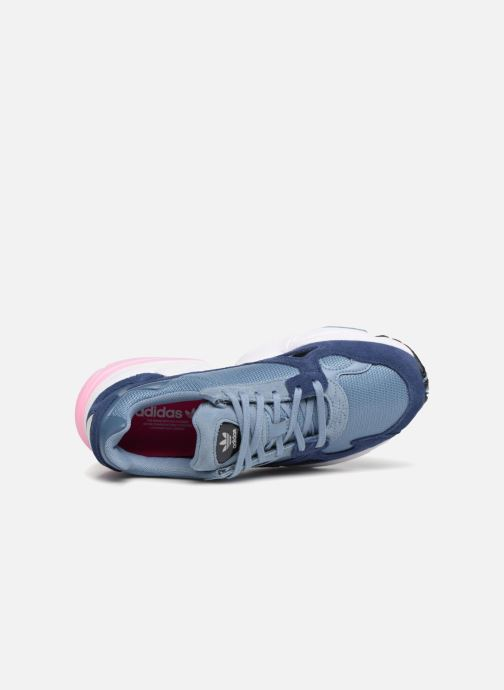 Baskets adidas originals Falcon W Gris vue gauche
