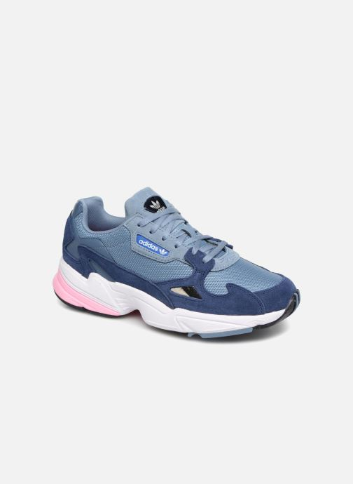 Baskets adidas originals Falcon W Gris vue détail/paire