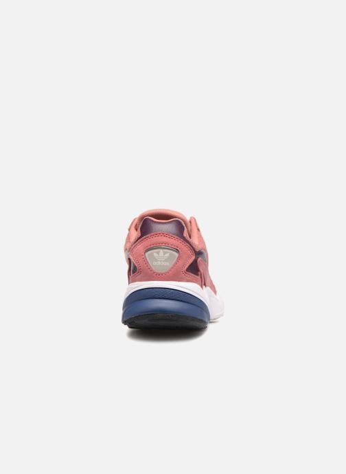 Baskets adidas originals Falcon W Rose vue droite