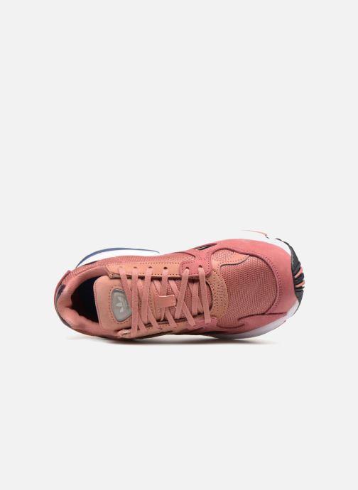 Baskets adidas originals Falcon W Rose vue gauche
