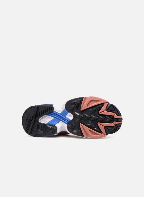 Baskets adidas originals Falcon W Rose vue haut