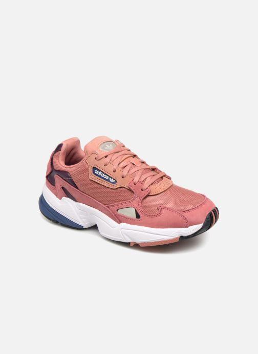 new concept f93df 5e2da Sneakers adidas originals Falcon W Pink detaljeret billede af skoene