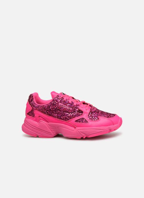 Sneakers adidas originals Falcon W Roze achterkant