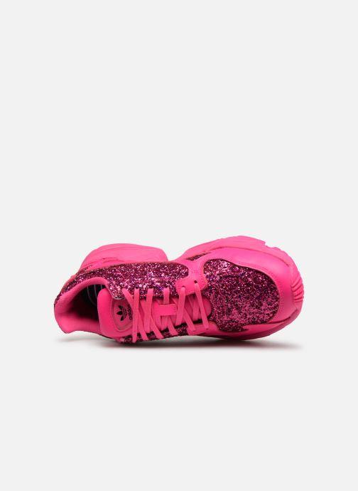Sneakers adidas originals Falcon W Pink se fra venstre