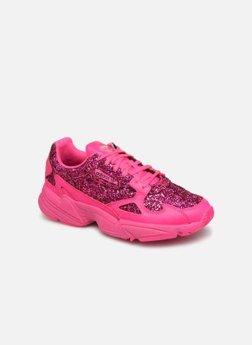 Sneakers adidas originals Falcon W Pink detaljeret billede af skoene