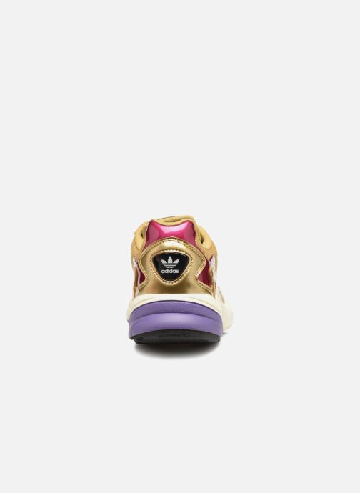 Sneakers adidas originals Falcon W Bronze och Guld Bild från höger sidan