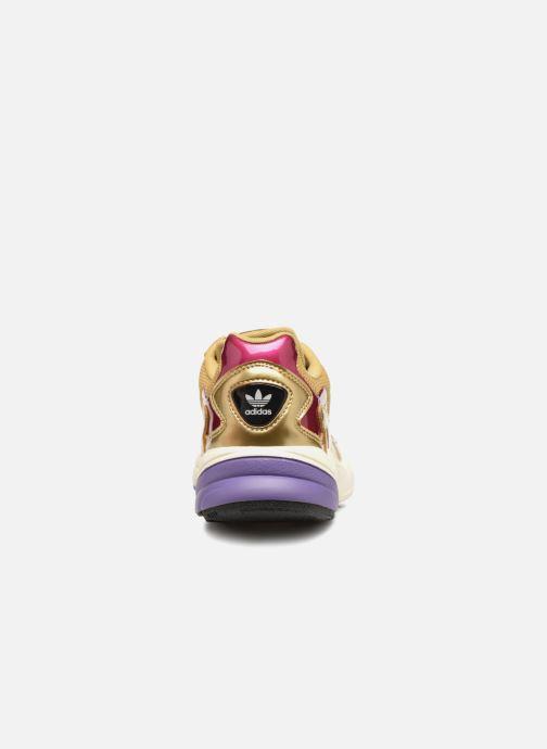Baskets adidas originals Falcon W Or et bronze vue droite
