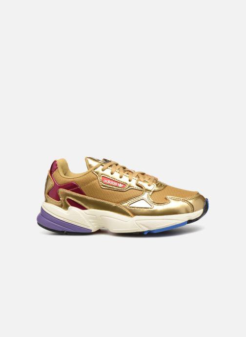 Sneakers adidas originals Falcon W Bronze och Guld bild från baksidan