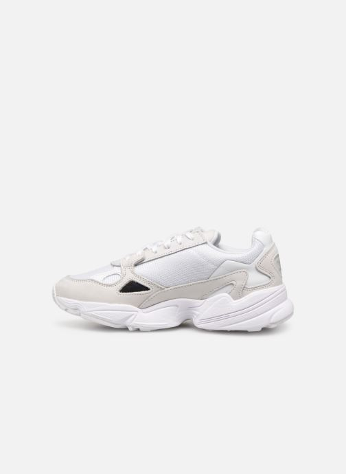 Baskets adidas originals Falcon W Blanc vue face