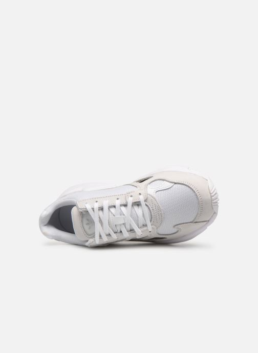 Baskets adidas originals Falcon W Blanc vue gauche