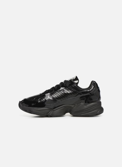 Baskets adidas originals Falcon W Noir vue face