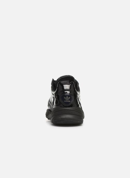 Sneakers adidas originals Falcon W Zwart rechts