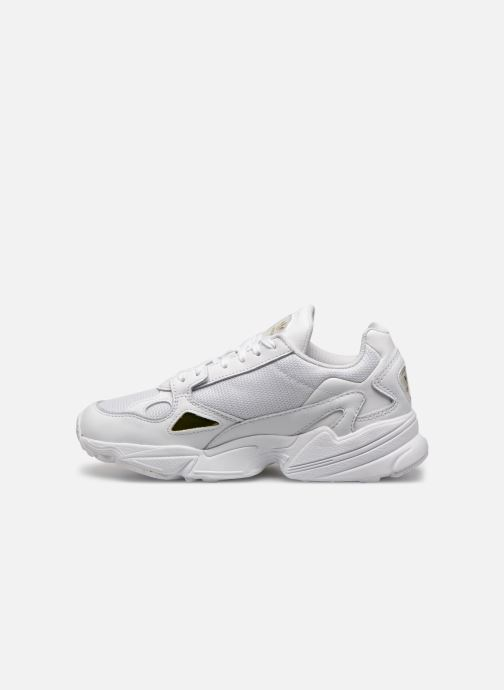 Sneaker adidas originals Falcon W weiß ansicht von vorne