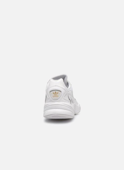 Deportivas Adidas Originals Falcon W Blanco vista lateral derecha