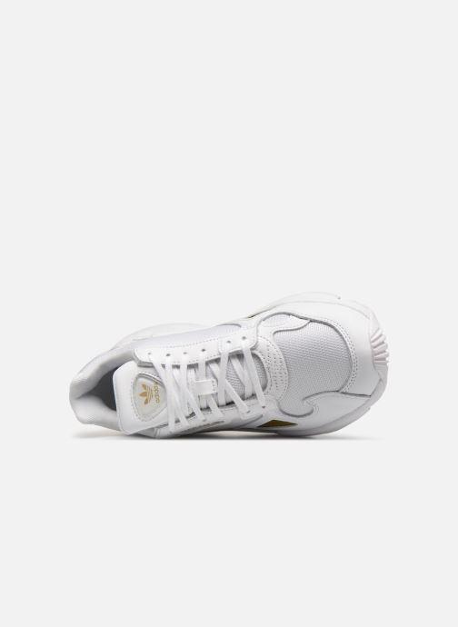 Deportivas Adidas Originals Falcon W Blanco vista lateral izquierda
