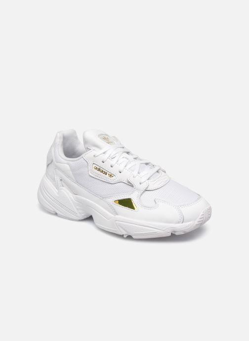 Sneakers adidas originals Falcon W Hvid detaljeret billede af skoene