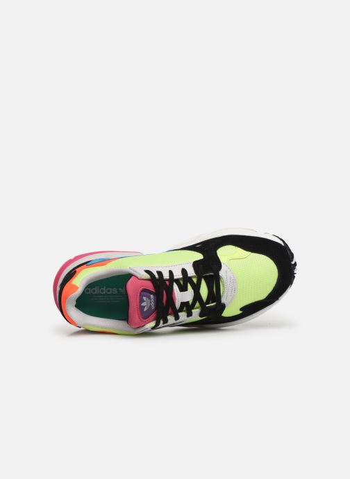 Trainers adidas originals Falcon W Multicolor view from the left