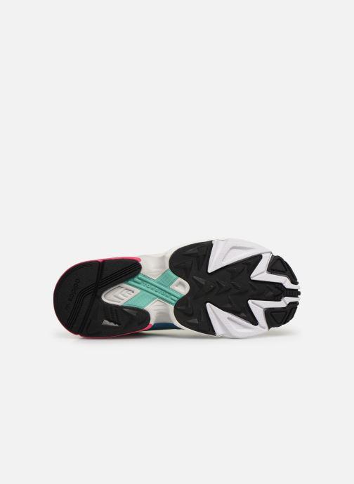 Baskets adidas originals Falcon W Multicolore vue haut