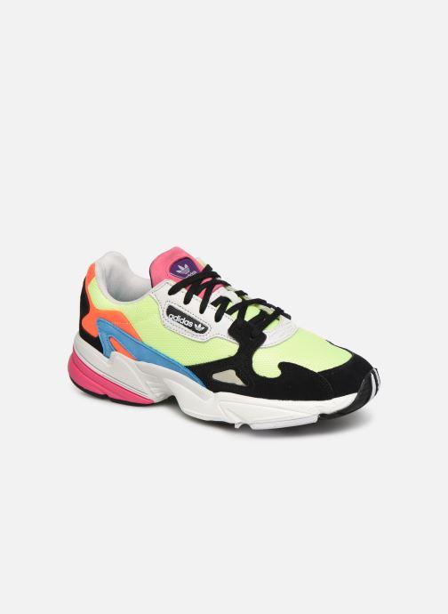 Baskets adidas originals Falcon W Multicolore vue détail/paire