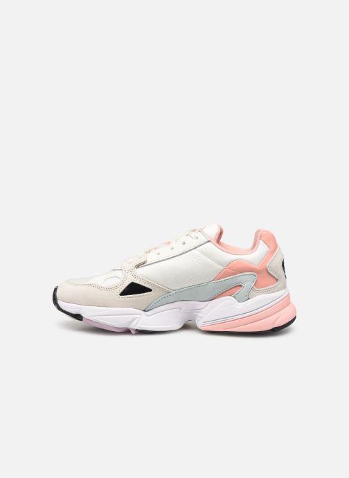 Sneakers adidas originals Falcon W Beige voorkant