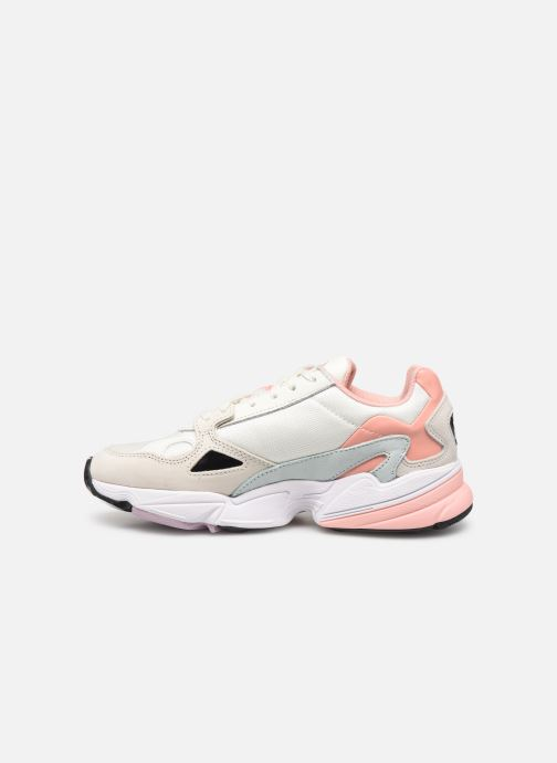 Baskets adidas originals Falcon W Beige vue face