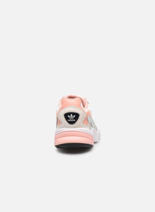 Sneakers adidas originals Falcon W Beige rechts