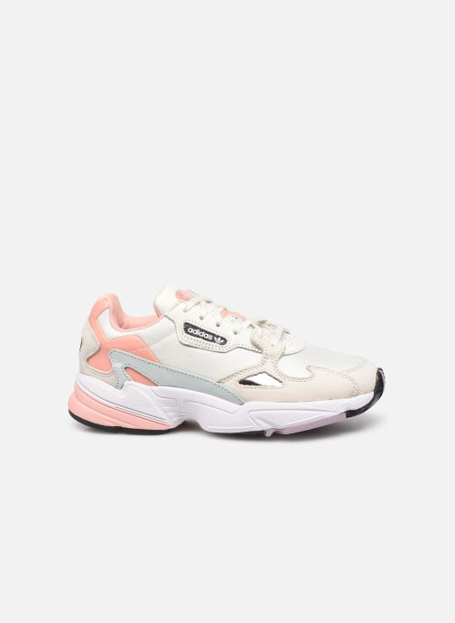 Baskets adidas originals Falcon W Beige vue derrière