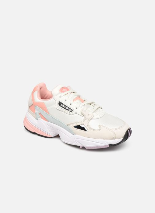 Baskets adidas originals Falcon W Beige vue détail/paire