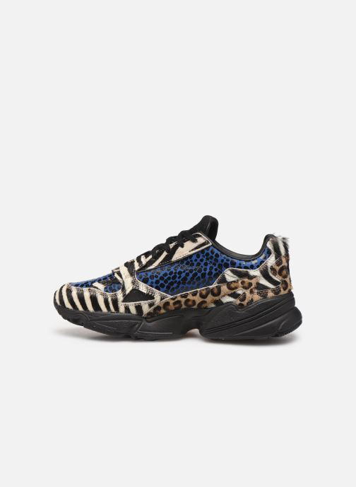 Deportivas adidas originals Falcon W Multicolor vista de frente