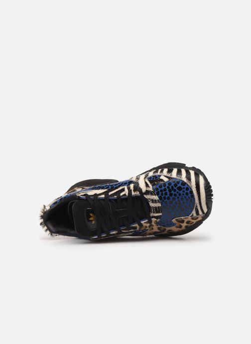 Baskets adidas originals Falcon W Multicolore vue gauche