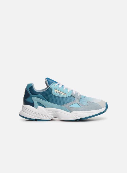Sneakers adidas originals Falcon W Blauw achterkant