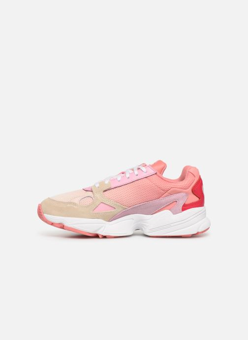 Trainers adidas originals Falcon W Pink front view