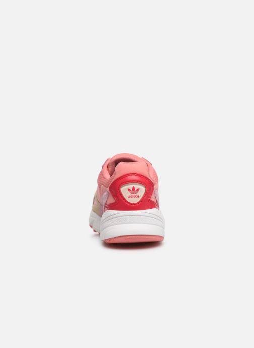 Trainers adidas originals Falcon W Pink view from the right