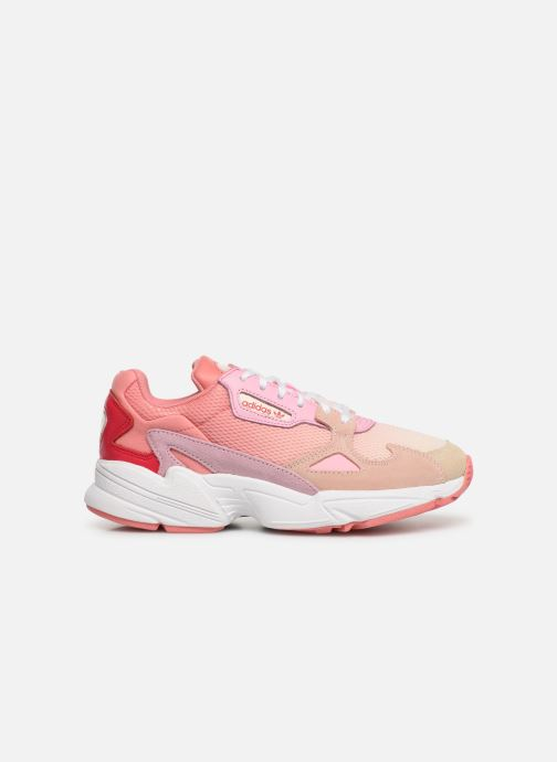 Trainers adidas originals Falcon W Pink back view