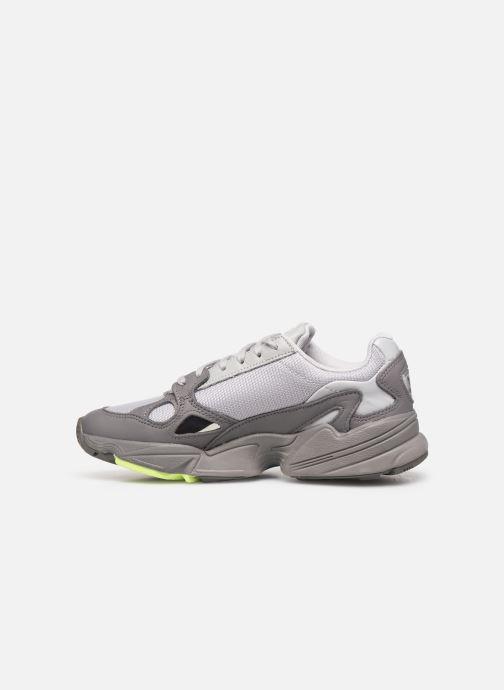 Sneaker adidas originals Falcon W grau ansicht von vorne