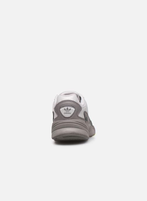 Sneaker adidas originals Falcon W grau ansicht von rechts