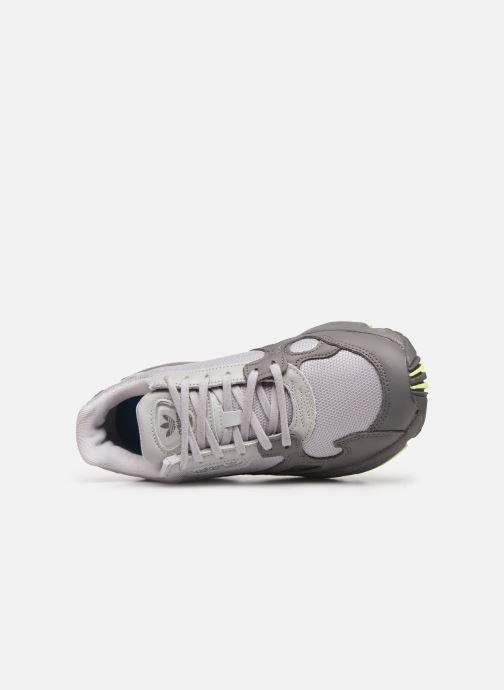 Sneaker adidas originals Falcon W grau ansicht von links