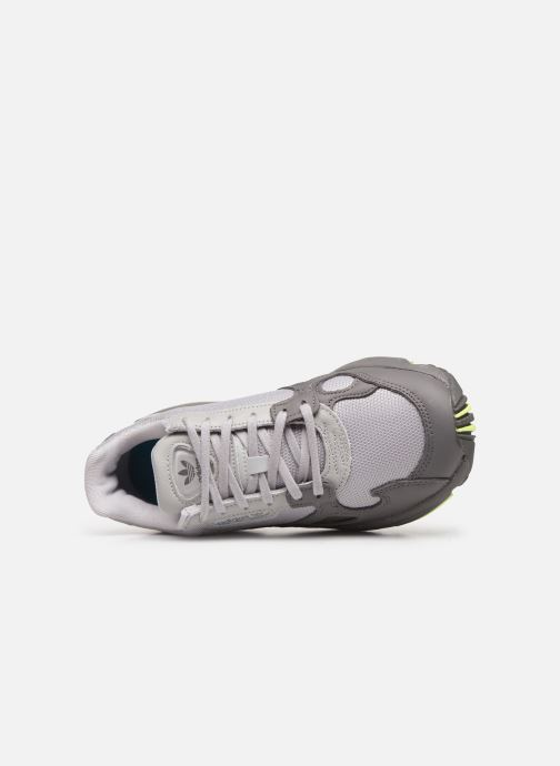 Sneakers adidas originals Falcon W Grijs links