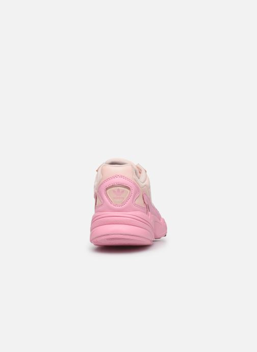 Sneakers adidas originals Falcon W Rosa immagine destra