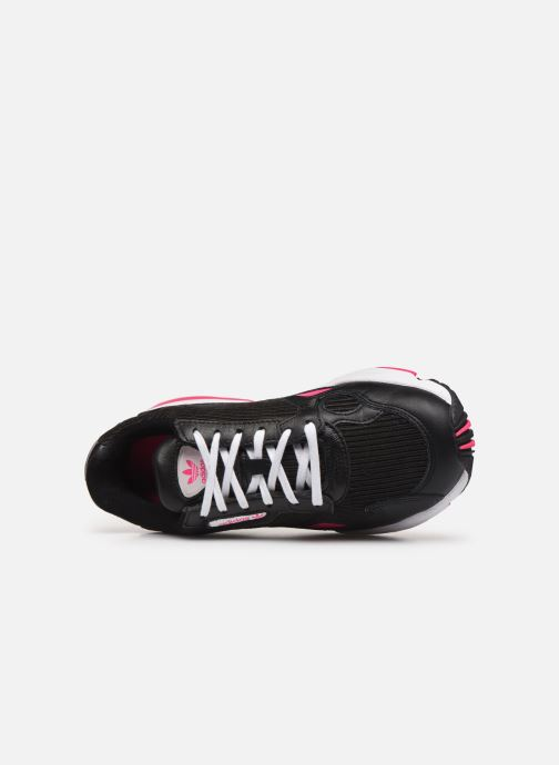 Sneakers adidas originals Falcon W Nero immagine sinistra