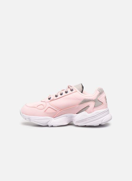 Sneaker adidas originals Falcon W rosa ansicht von vorne