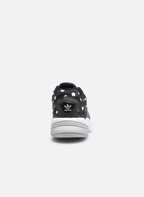 Baskets adidas originals Falcon W Noir vue droite