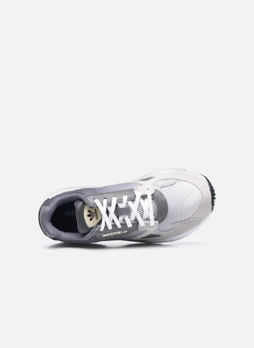 Baskets adidas originals Falcon W Gris vue gauche