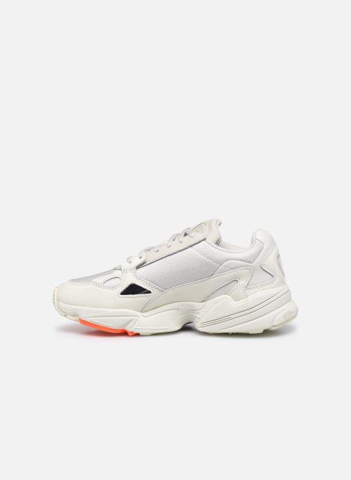 Sneakers adidas originals Falcon W Grijs voorkant