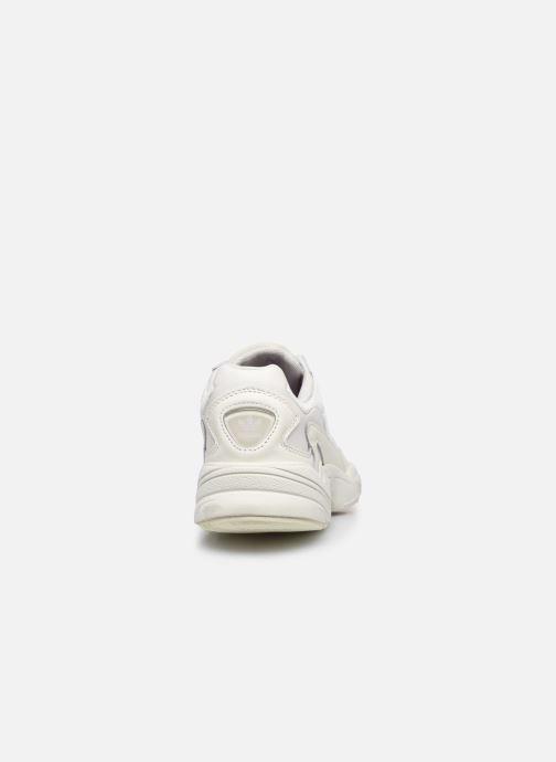 Baskets adidas originals Falcon W Gris vue droite