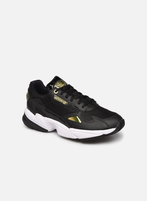 Baskets adidas originals Falcon W Noir vue détail/paire