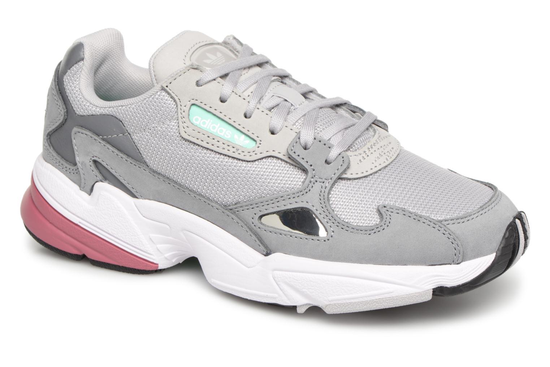 Sneakers Adidas Originals Falcon W Grå detaljeret billede af skoene
