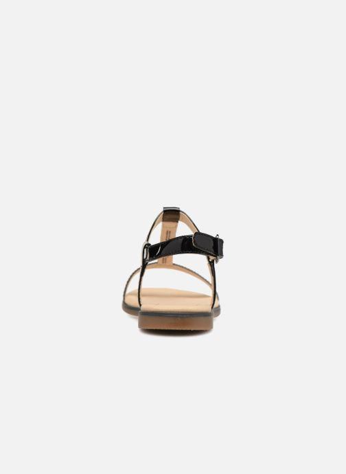 Sandales et nu-pieds Clarks Bay Blossom Noir vue droite